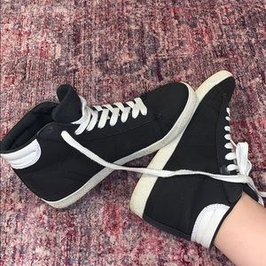 High Top Sneakers Black & White